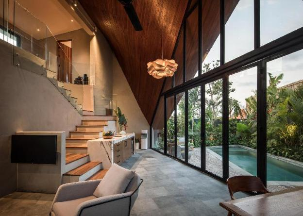 Designer 1BR villa close to the beach in Pererenan