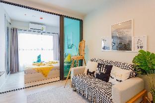 [Ratchada]アパートメント(30m2)| 1ベッドルーム/1バスルーム [hiii]Naples|Boundless Pool|Airport Link-BKK230