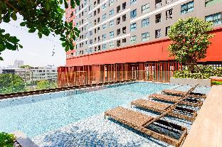 [Ratchada]アパートメント(30m2)| 1ベッドルーム/1バスルーム [hiii]BlueGrass/BoundlessPool/Ramkhamhaeng-BKK232