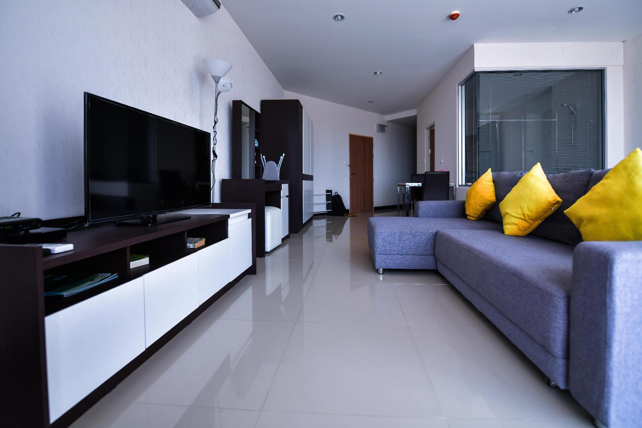 Sea view studio Milena 5 mins walk to Karon beach อพาร์ตเมนต์ 1 ห้องนอน 1 ห้องน้ำส่วนตัว ขนาด 47 ตร.ม. – กะรน