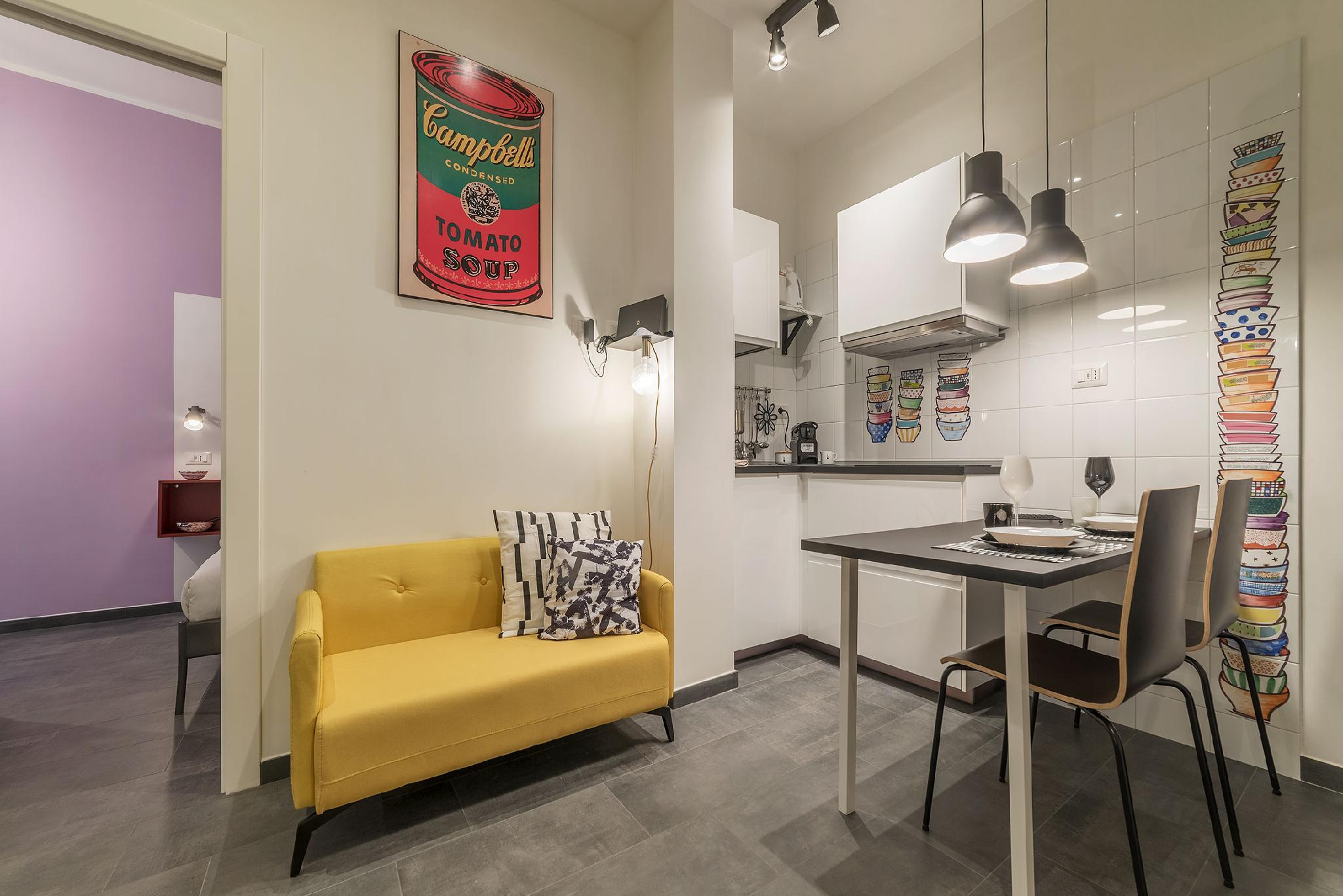 Testaccio Colorful Apartment with Terrace