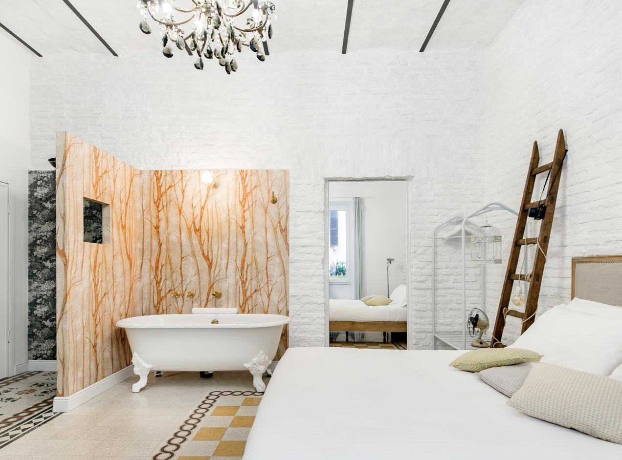 Uniquely Decorated Suite Located near Colosseum