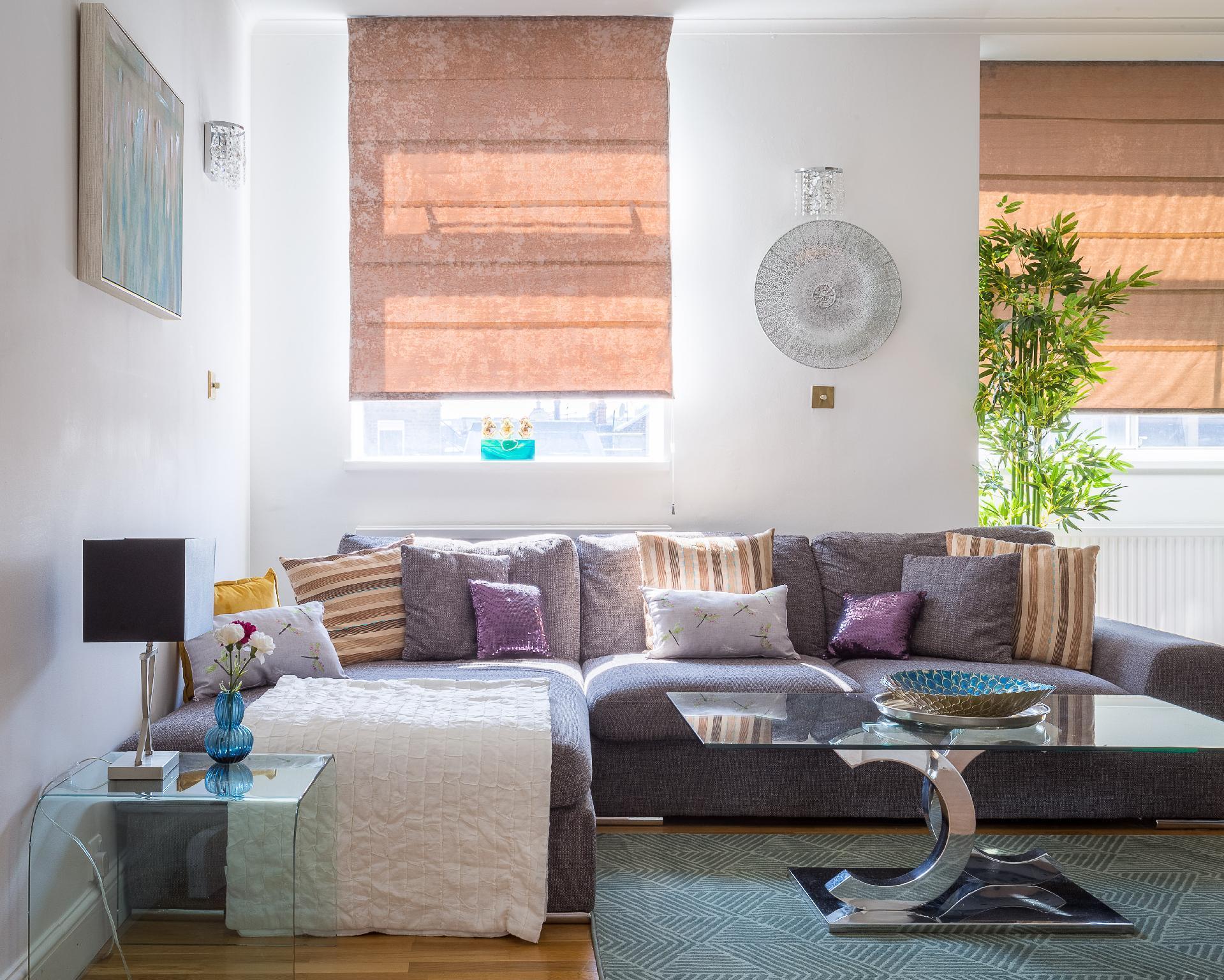 Designer 2-bed 2-bath behind Selfridges