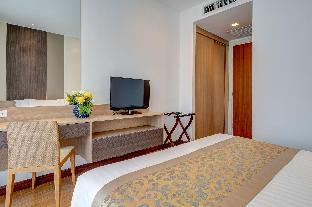[クロンムアン]アパートメント(81m2)| 1ベッドルーム/1バスルーム Deluxe Pool Suite Room 81 SQ.M