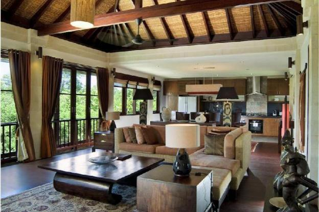 Breathing Jungle Views from a Iconic Home Bali