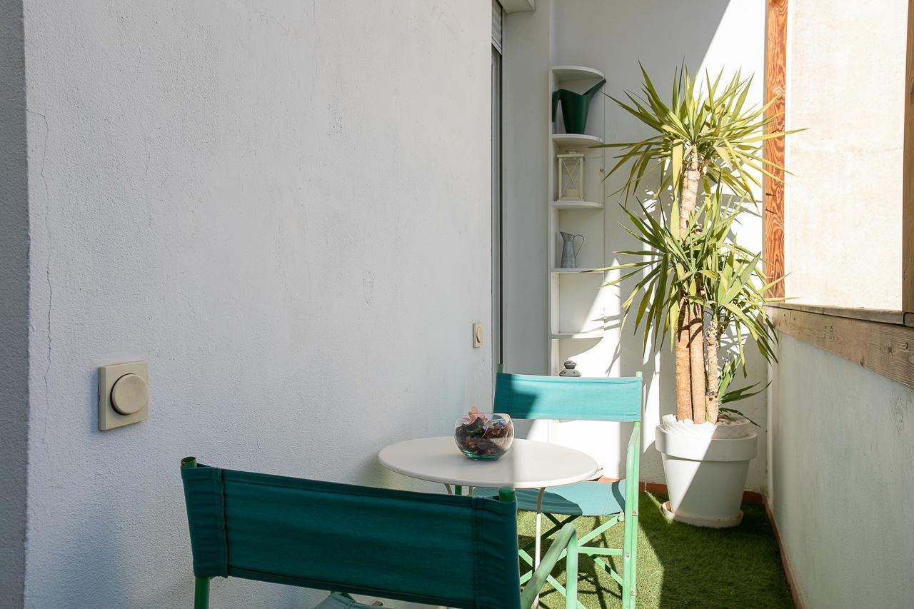 Bright & modern flat with terrace/Paseo de Gracia