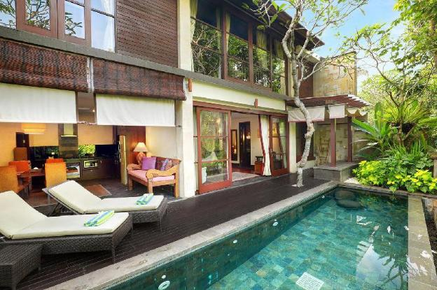 One Bedroom Infinity Pool Villa with Jungle View