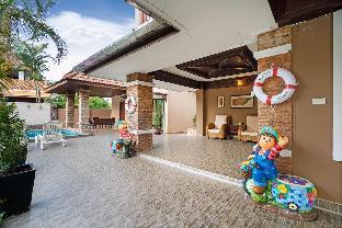 [プーケットタウン]ヴィラ(900m2)| 5ベッドルーム/3バスルーム Angel villa with private pool  6 Bed room