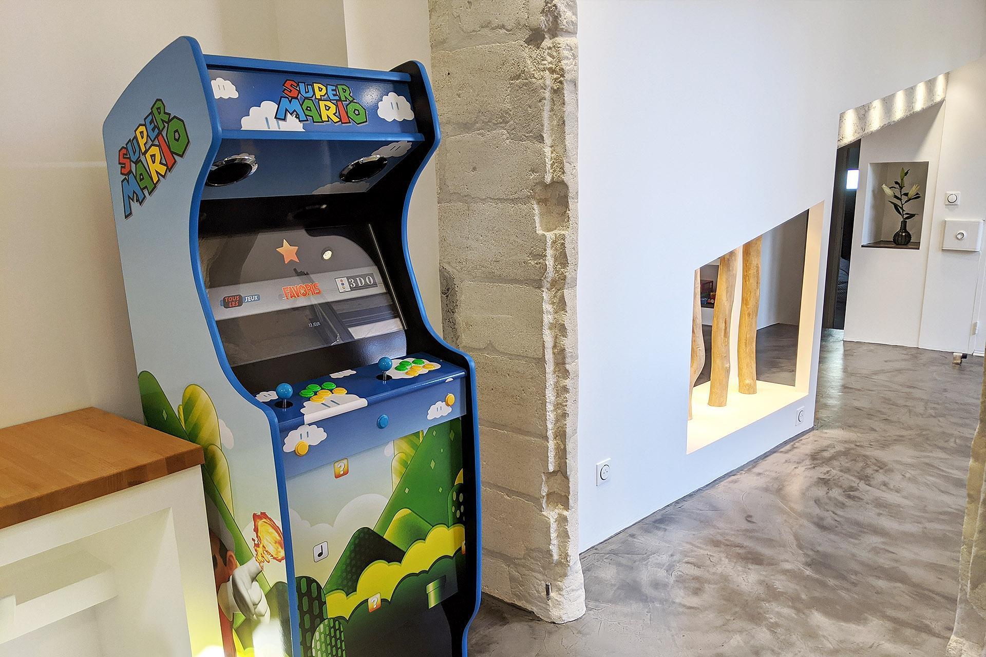 L'Origami, Avignon Intramuros, Box d'arcade