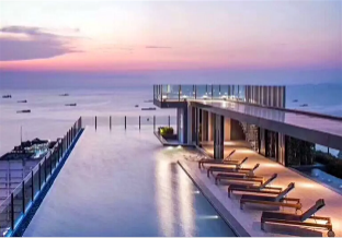 %name 2 Luxury Modern  1BR 300M  From Pattaya Beach พัทยา