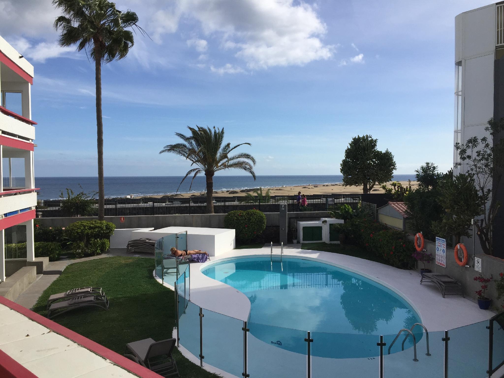 Apartment With Sea View   Dunas Maspalomas