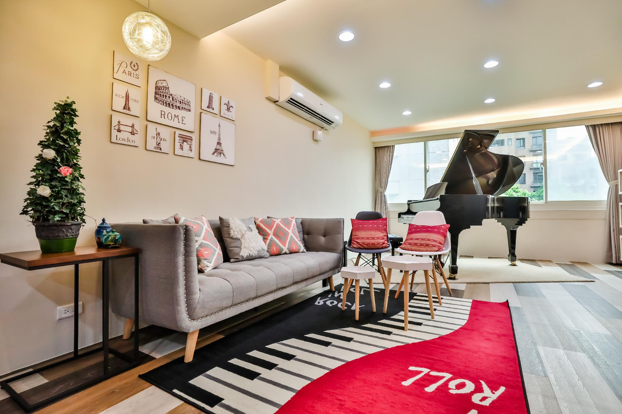 Taipei Music Guest House 4BR Baby Welcome