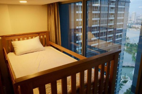 Male Dorm Bed in 4-beds Vinhomes FREE Gym Pool Ho Chi Minh City