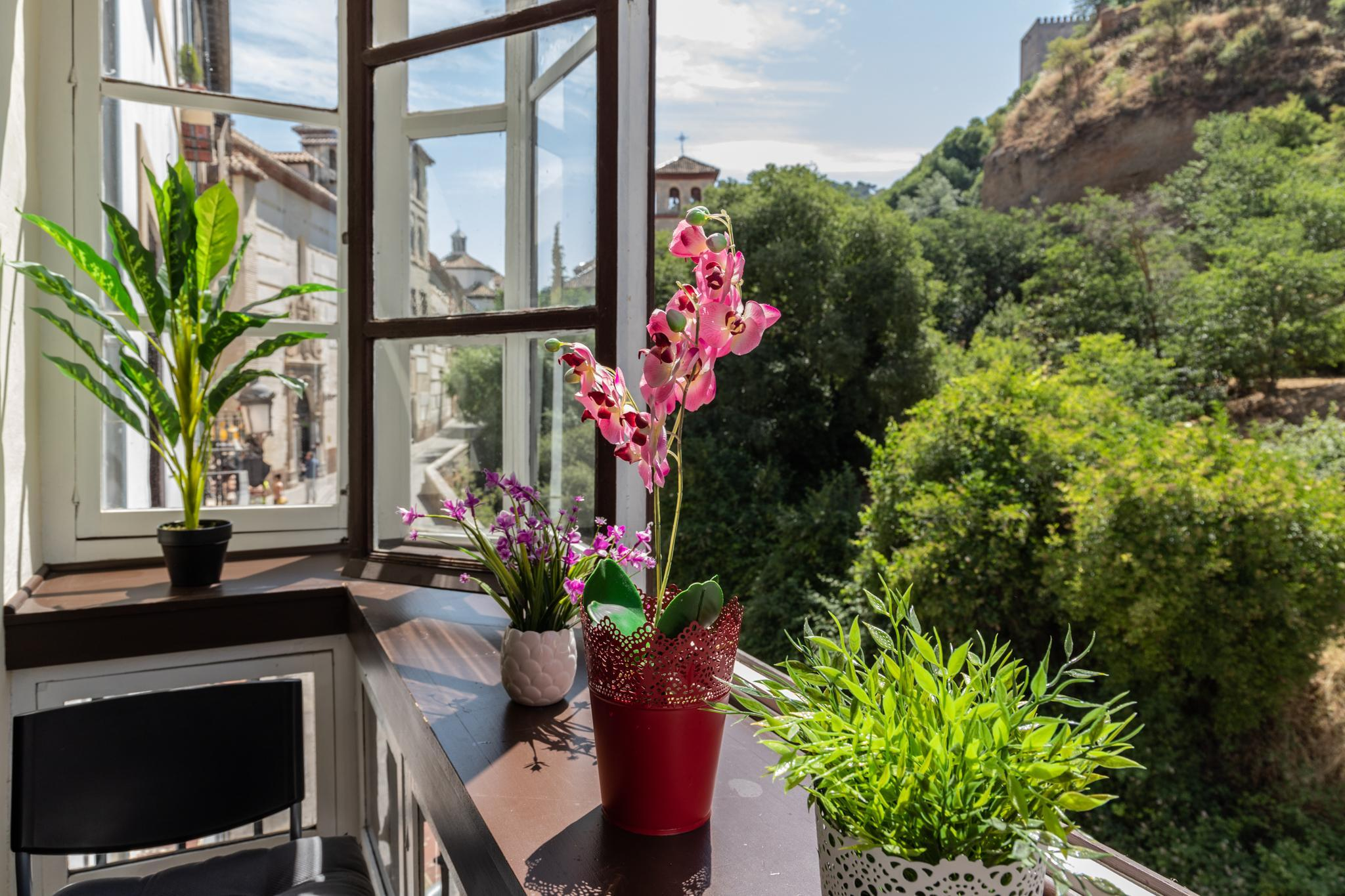 STUDIO WITH DIRECT VIEWS TO ALHAMBRA