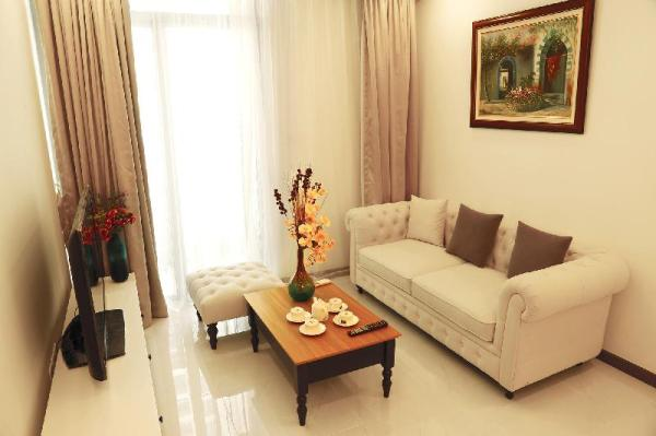 Sai Gon City View 1 BR apt in Vinhomes Central3311 Ho Chi Minh City