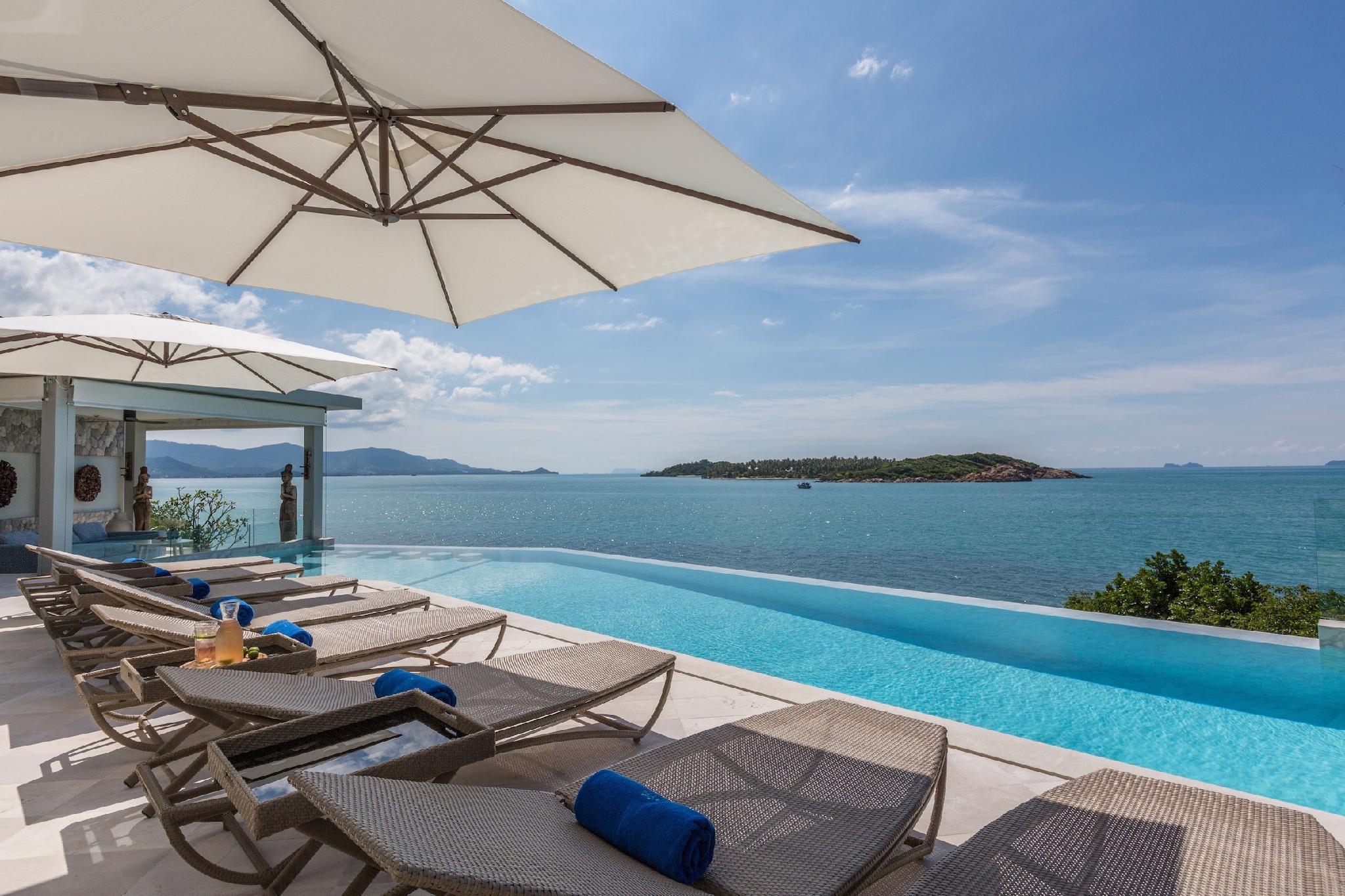 YO Villa 4 Bed Suites Beachfront Private Pool