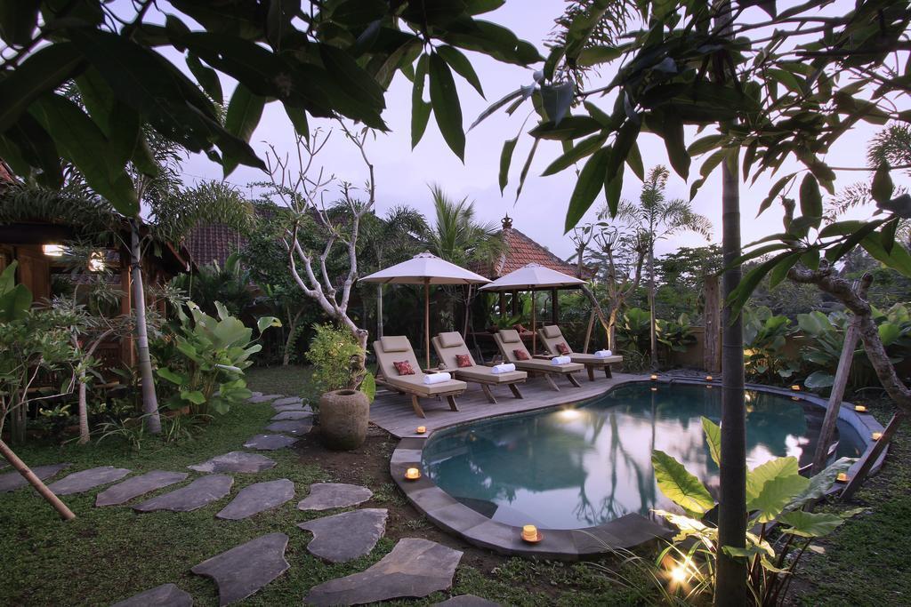 1 BDR Antique Villas Rice Feild View At Ubud
