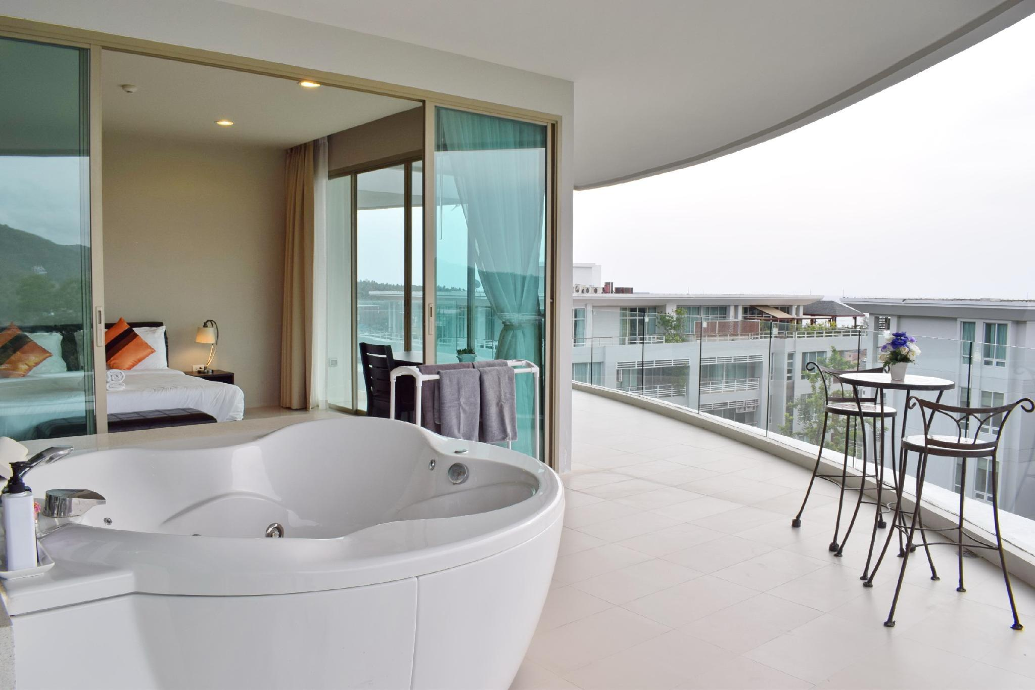 2 Beds Seaview With Jacuzzi On Balcony
