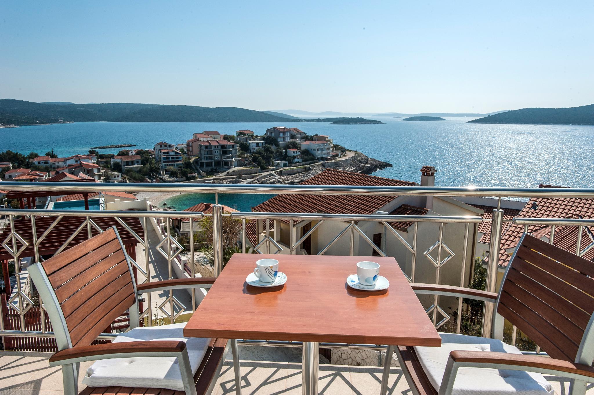 Modern New Built Villa In Place Sevid Near Trogir