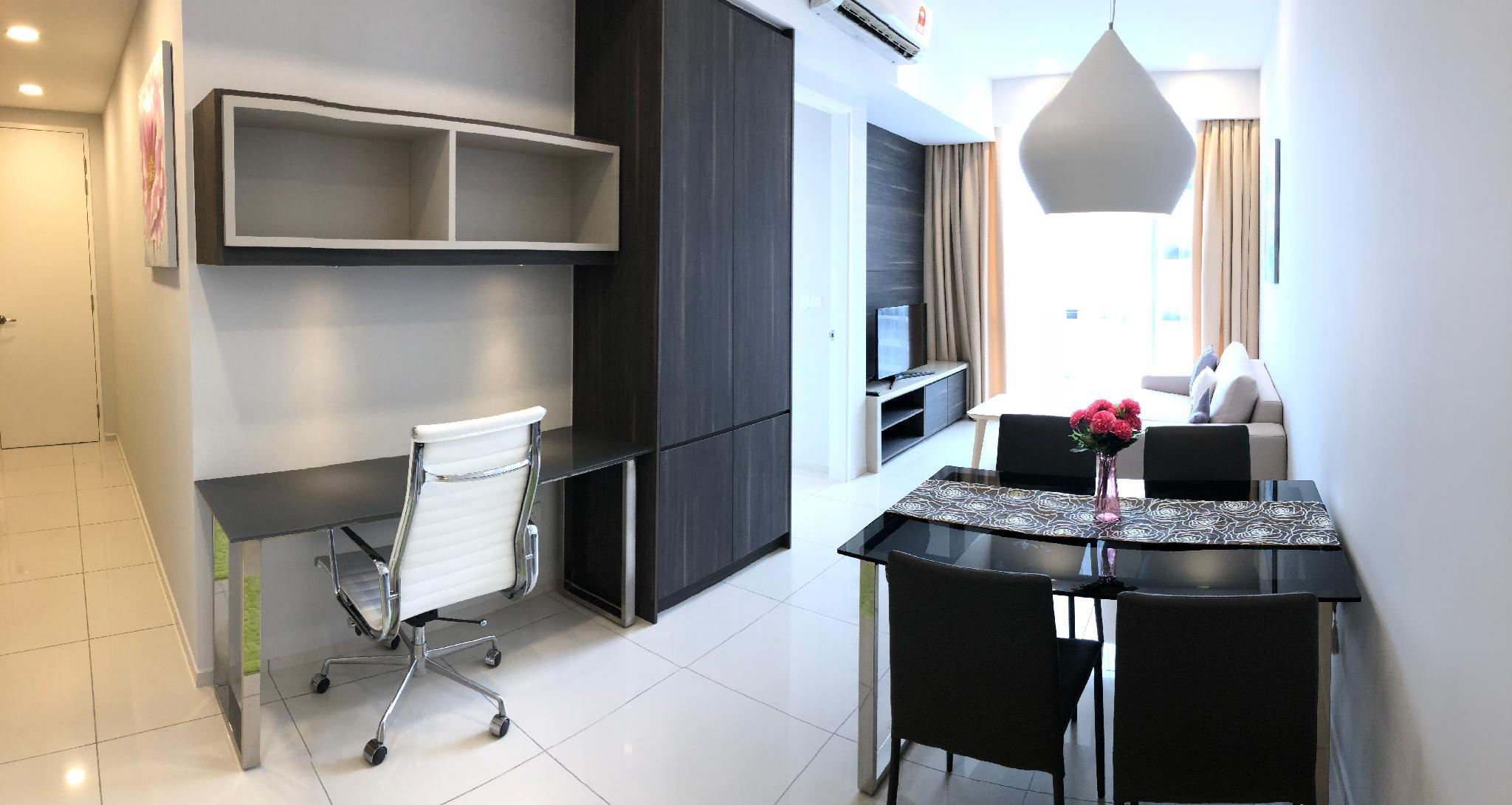 301 Superb View One Bedroom Studio Bukit Bintang