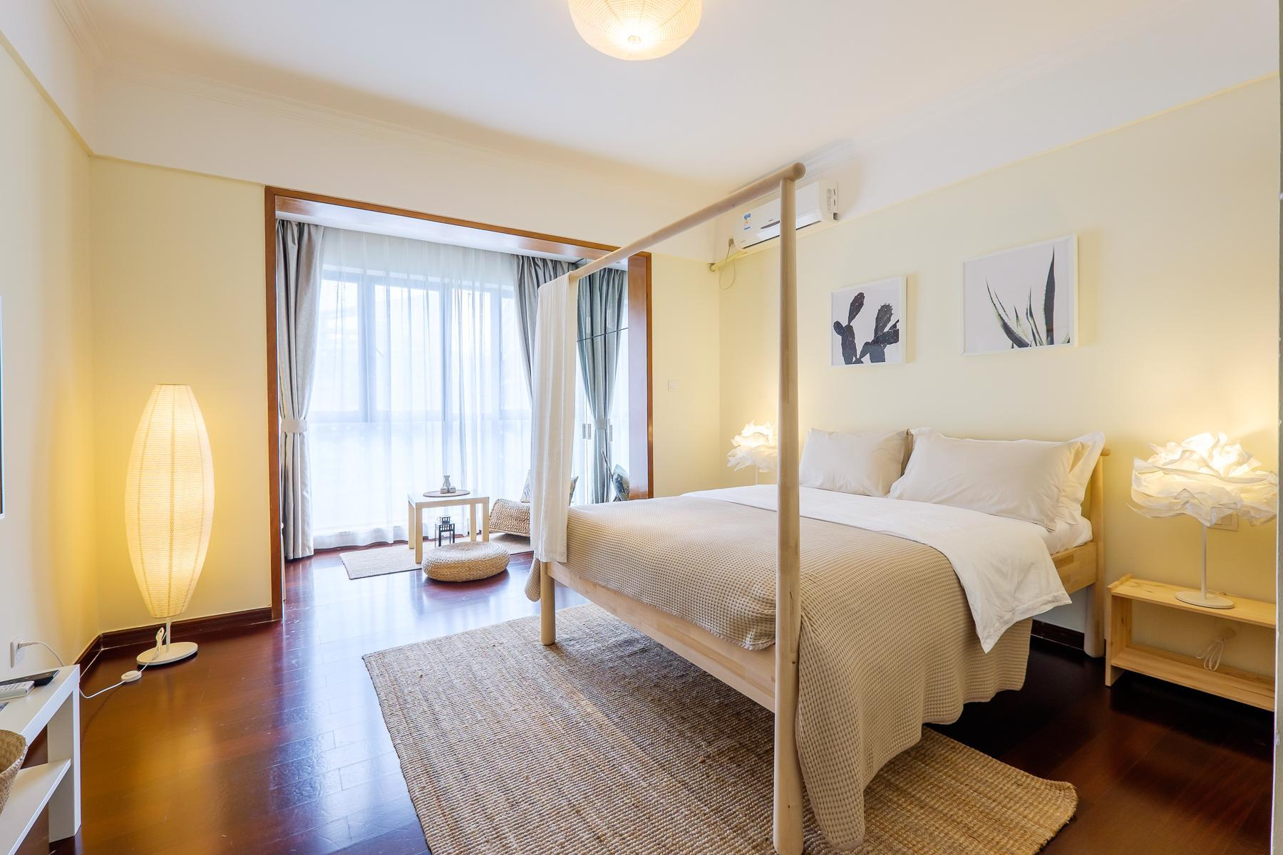 New Day  Homestay Apartments   Zen Style Bed Room