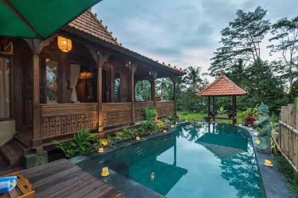 Romantic Villa With Rice Field View In Ubud Ubud Bali