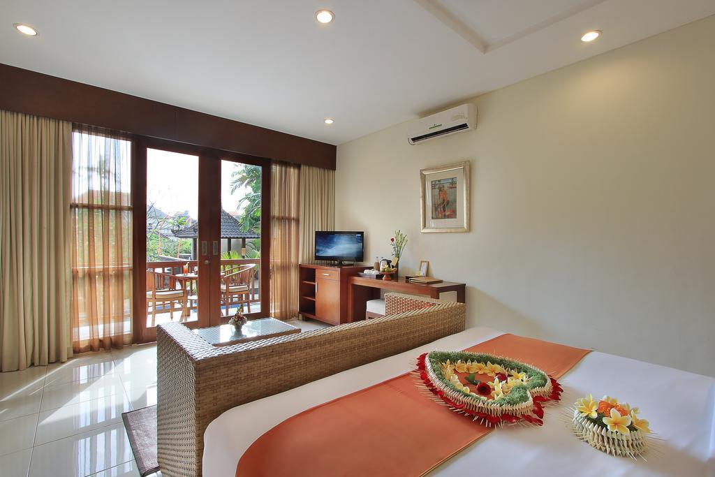 124 Deluxe Room With Pool View In Ubud