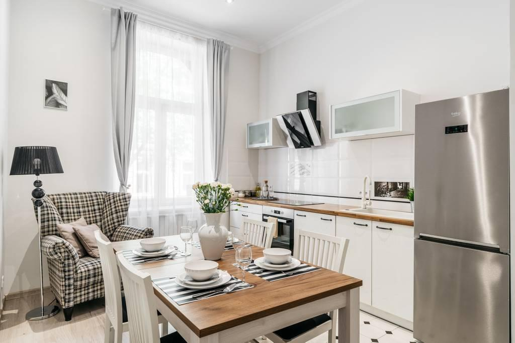 Bright apartment in historical part of Old Town