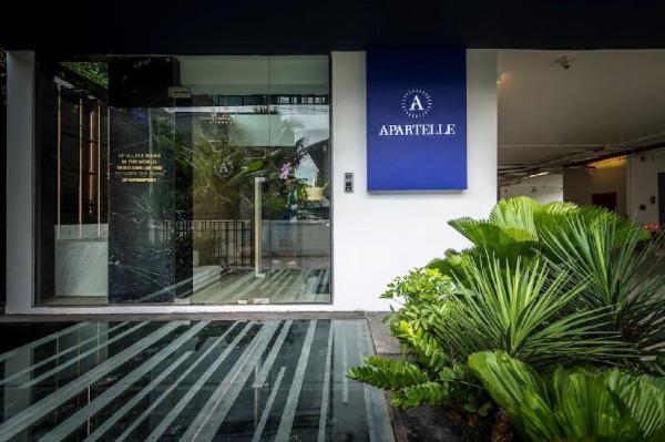 Apartelle Jatujak hotel Superior Twin BR&&02 Bangkok