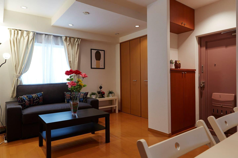 AKASAKA And ROPPONGI. 2 BedRoom Apartment AK3  007