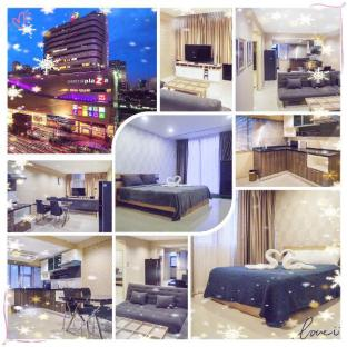 %name Phra Ram 9 MRT Station/2 bedroom/24hr check in กรุงเทพ