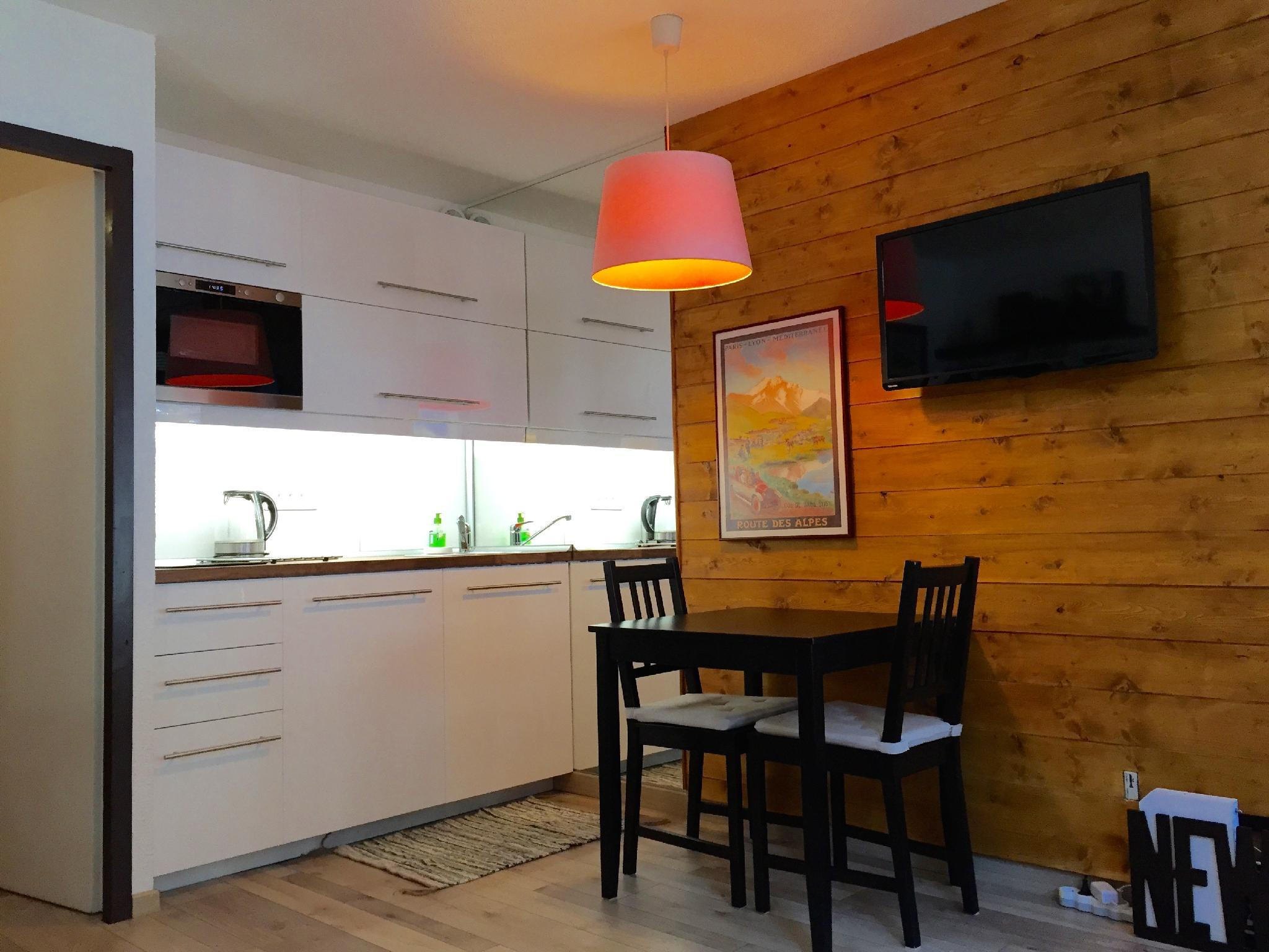 **Le Grepon Studio With Mont Blanc View