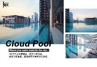[ラチャダーピセーク]アパートメント(35m2)| 1ベッドルーム/1バスルーム 【hiii】Comfort Bay@CBDRama9/MRTPhetchaburi/BKK061