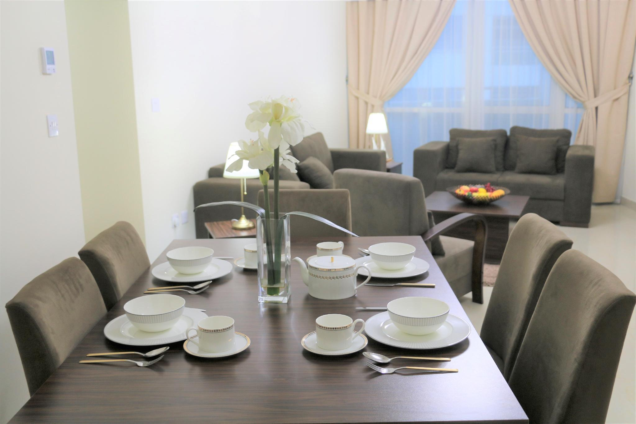 SEA VIEW FULLY FURNISHED 2BD  WEST BAY