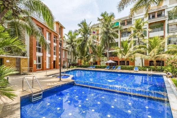 Elegant 1 BHK with a pool, near Baga Beach/67914 Goa