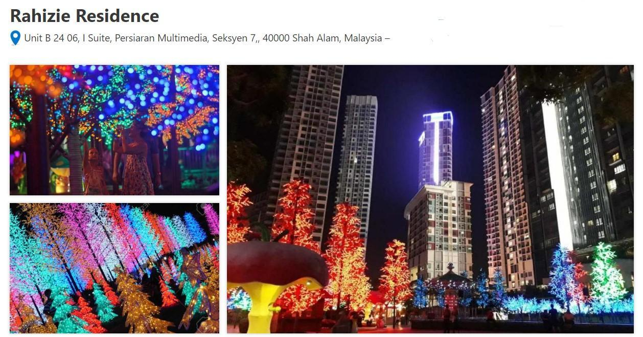 Rahizie Residence @I Suite @I City @Shah Alam
