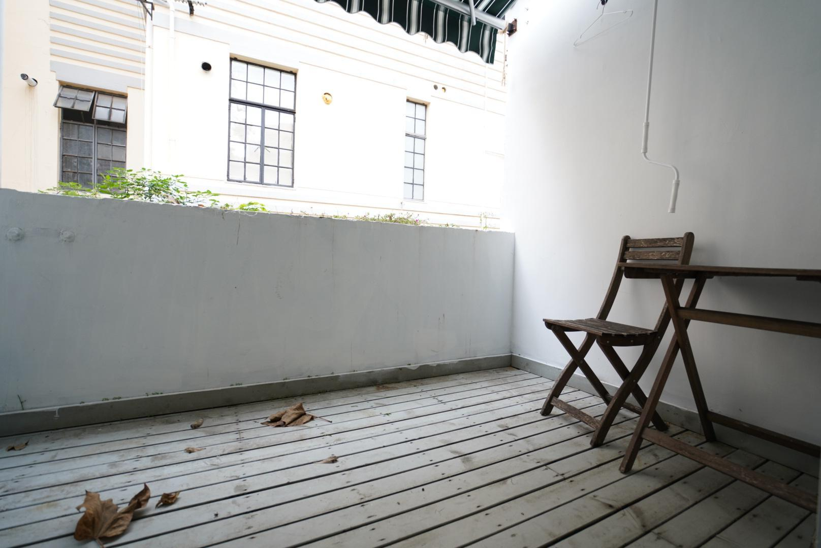 Typical Shanghai Lane House With Charming Balcony