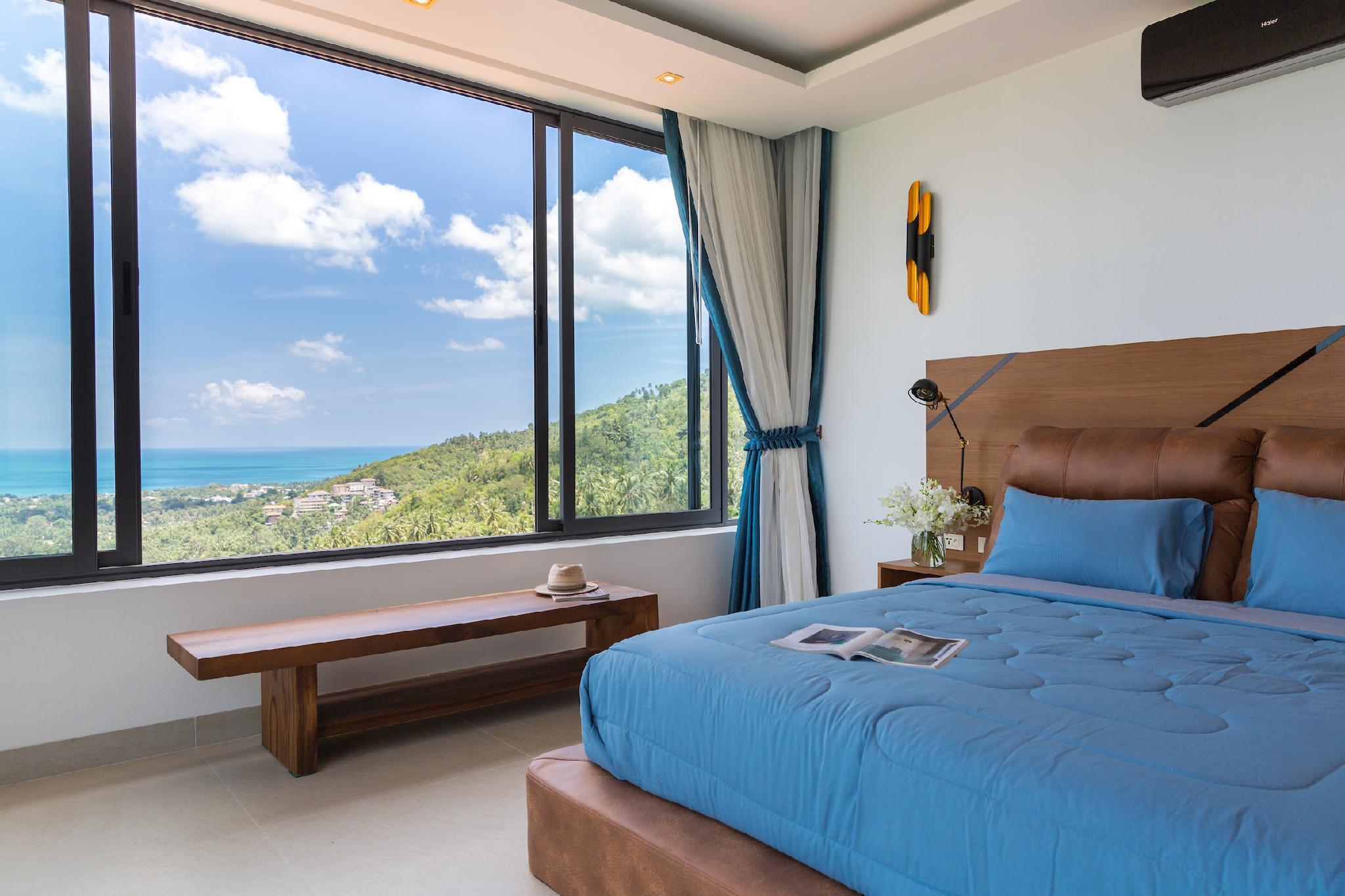 Awesome tranquil villa Victoria วิลลา 3 ห้องนอน 4 ห้องน้ำส่วนตัว ขนาด 330 ตร.ม. – หาดเฉวง