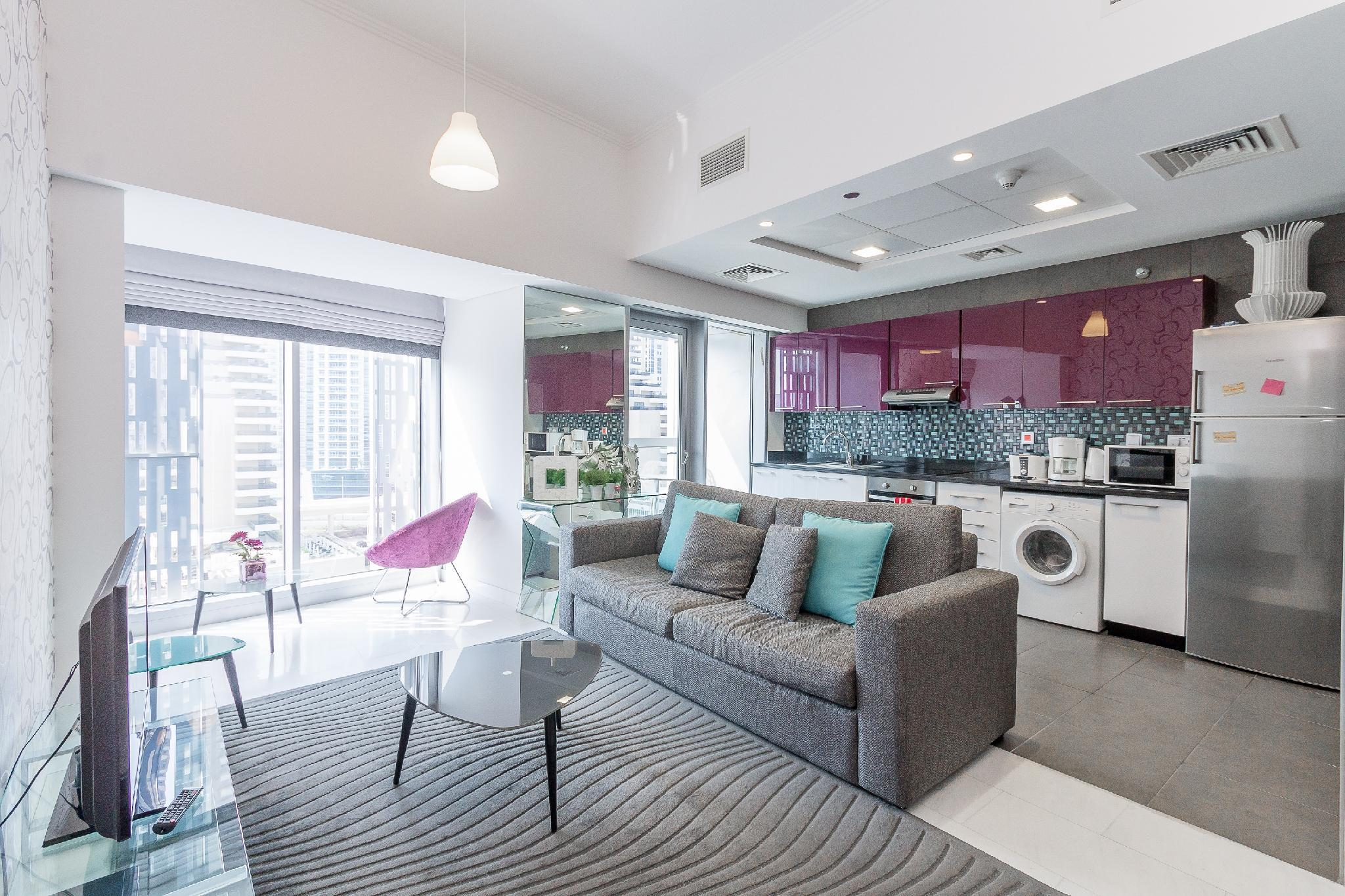 Seasonal Offer For Marina View 1BR At Cayan Tower