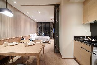 City Center, Shopping&BTS Phrom Phong 500m สตูดิโอ อพาร์ตเมนต์ 1 ห้องน้ำส่วนตัว ขนาด 30 ตร.ม. – สุขุมวิท