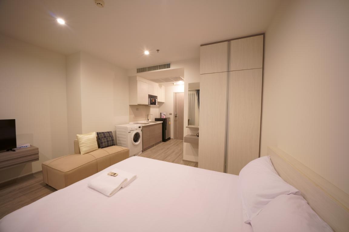 Luxury Pattaya beach front Seaview studio สตูดิโอ อพาร์ตเมนต์ 1 ห้องน้ำส่วนตัว ขนาด 26 ตร.ม. – หาดจอมเทียน
