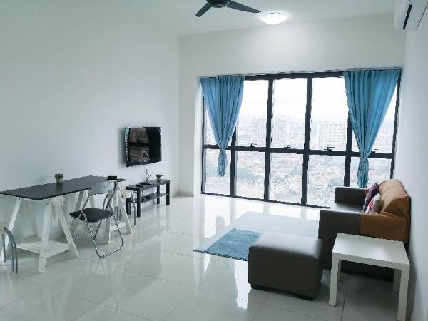 4 person @ PJ Icon City Cozy Apartment City View Kuala Lumpur