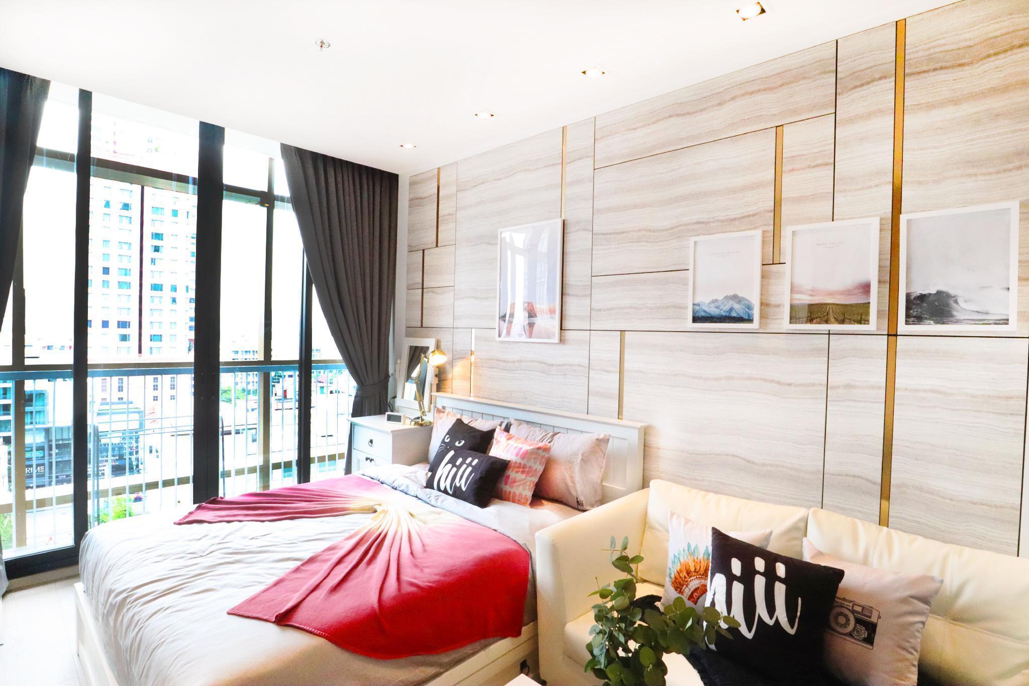 【hiii】BKK Center@Sukhumvit24/Cloud Pool&Gym-BKK106 อพาร์ตเมนต์ 1 ห้องนอน 1 ห้องน้ำส่วนตัว ขนาด 29 ตร.ม. – สุขุมวิท