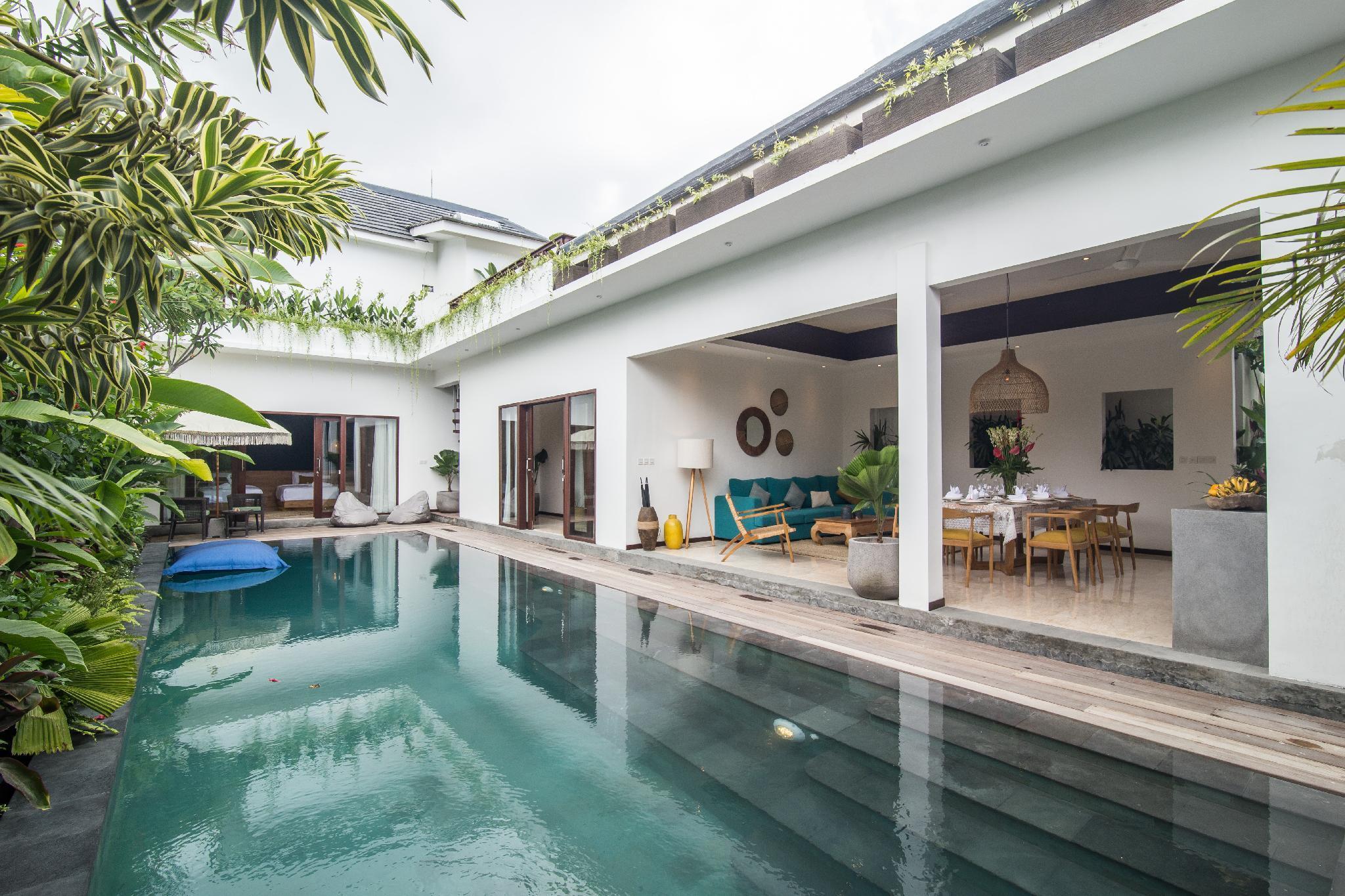 Private Villa On Walking Distance Perancak Beach