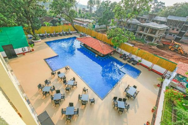 1 Bedroom Luxury Apartment with shared pool 70868 Goa