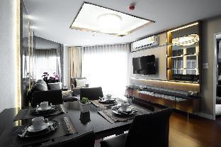 [ラチャダーピセーク]アパートメント(109m2)| 3ベッドルーム/3バスルーム LuxuryDuplex belle condo/Subway Rama9/3BR/BKK/Wifi