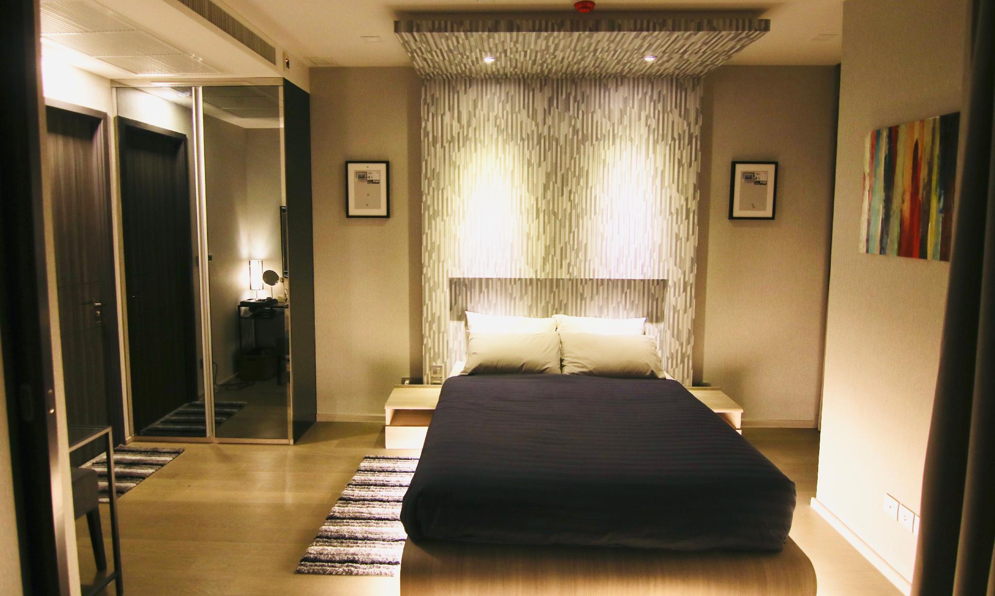 Luxurious & Romantic in the Heart of BKK#L MRT/BTS อพาร์ตเมนต์ 1 ห้องนอน 1 ห้องน้ำส่วนตัว ขนาด 35 ตร.ม. – สุขุมวิท