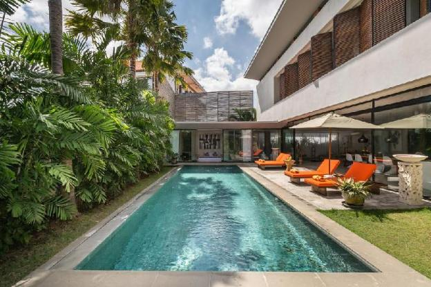 2BDR Modern with Private Pool in Canggu Area