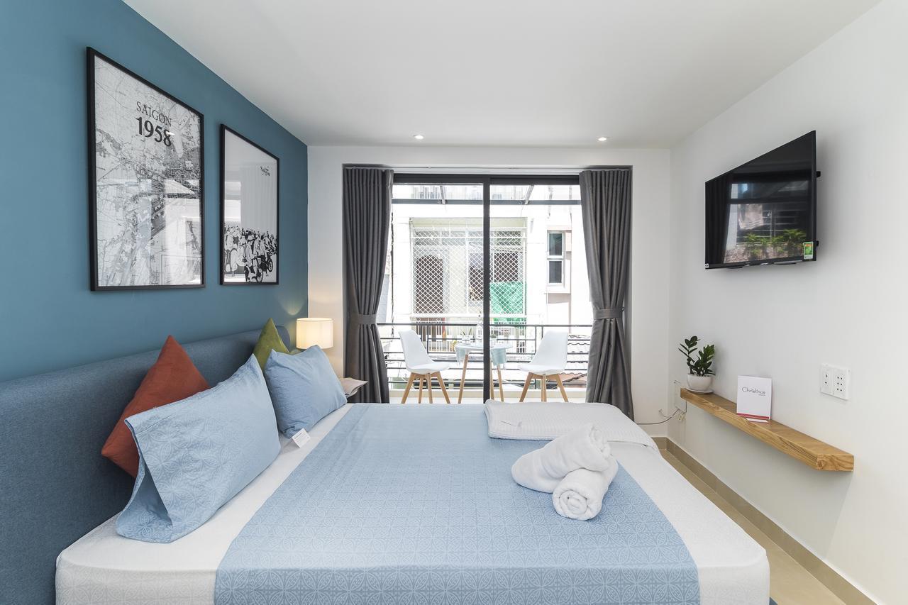 Cozrum Homes  Charming Loft W Balcony @BenThanh D1