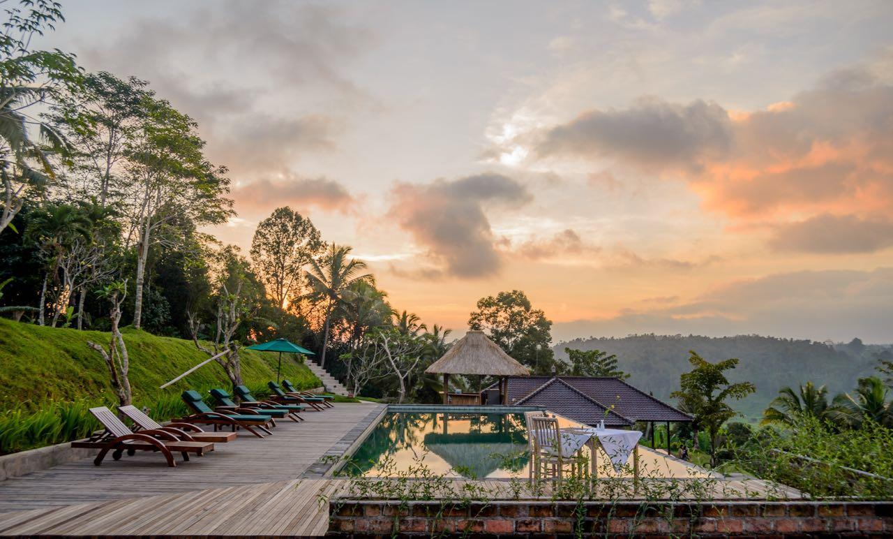 Bungalow With Mt.Agung View   Infinity Pool